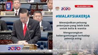 Budget 2020: #MalaysiaKerja initiative for better job opportunities