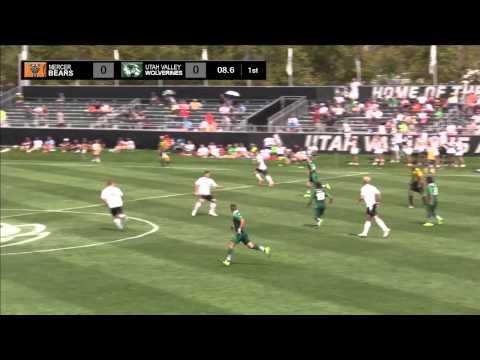 NCAA DI Soccer: Mercer University at Utah Valley University