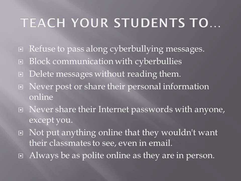 CYBERBULLYING PPT - YouTube