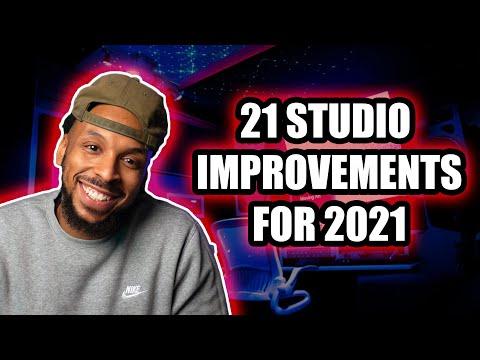 21 Ways to Improve Your Studio in 2021