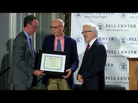 Dan Barry receives 2018 Pell Prize for Story in the Public Square