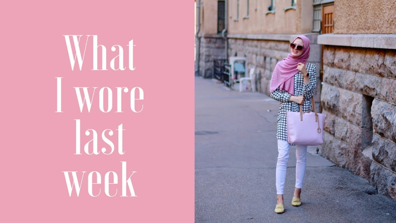 What I wore last week | 7 modest summer outfits 1