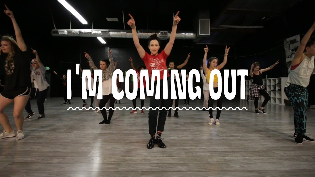 DIANA ROSS I'm Coming Out | Dana Wilson Choreography (Amazing) Raising them positive vibes!