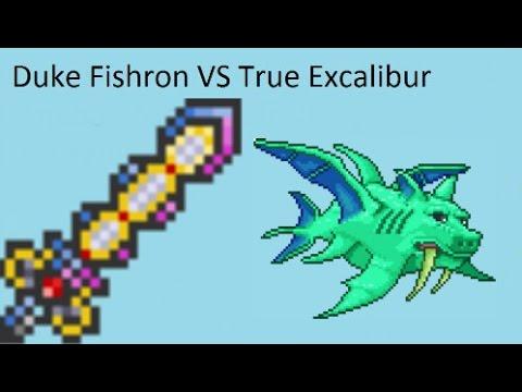 True excalibur terraria