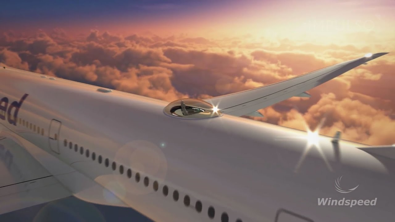 Windspeed S Skydeck Luxury Seats On Top Of A Plane Youtube
