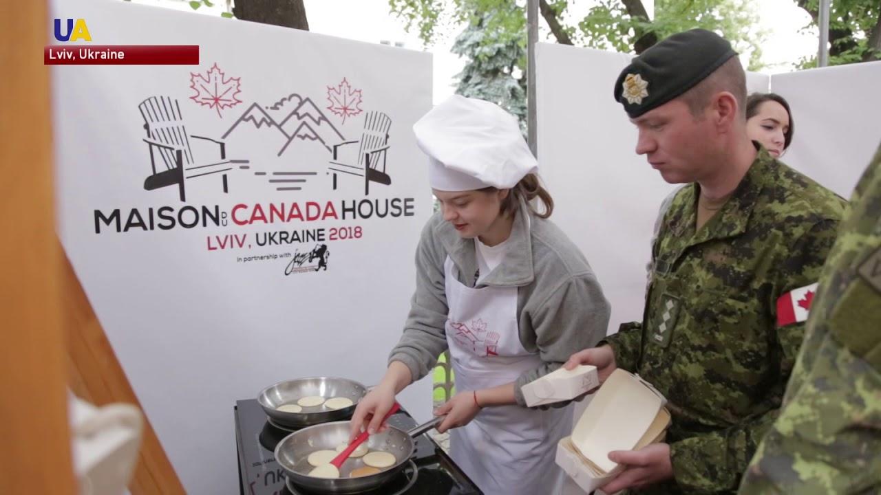 Canada Day Celebrated for 1st Time in Lviv - UATV