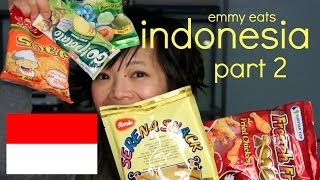Emmy Eats Indonesia - more Indonesian Snacks & Sweets - part 2