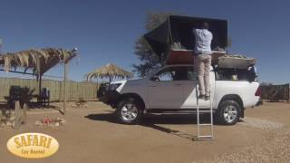 Safari Car Rental Namibia - Set Up Camp