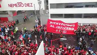 Tremendo Recibimiento - Toluca vs Santos Final clausura 2018