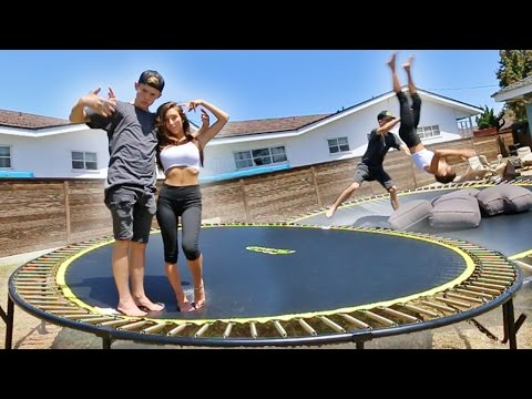 Thumbnail: TEACHING MY GIRLFRIEND HOW TO BACKFLIP!