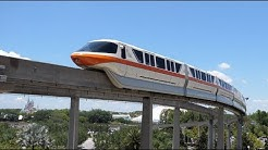 Magic Kingdom Monorail FULL RIDE in 4K 2020 at Walt Disney World Transportation Orlando Florida