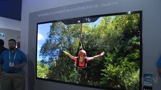 Samsung's 8K Glasses-Free 3D TV Blew Our Minds - CES 2015