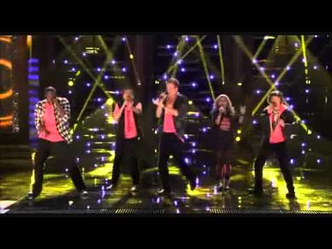 "1st Performance – Pentatonix – ""ET"" by Katy Perry Ft Kanye West – Sing Off – Series 3"
