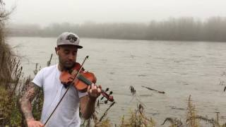 Irish jig fast violin fiddle - folk music