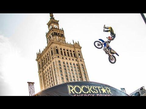 Freestyle Motocross Show | Flying Rockstar Energy Tour - Warszawa 2016 | Three Sixty Vlog EP. 18