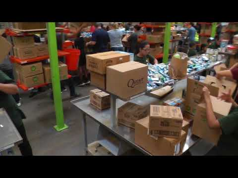 Food Bank Houston Volunteer Oct, 2017
