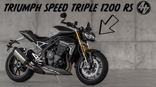 ALL-NEW TRIUMPH SPEED TRIPLE 1200 RS | ENGINE SOUND + PREVIEW
