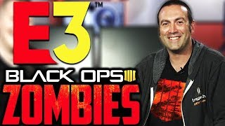 E3 2018: // BLACK OPS 4 ZOMBIES: // JASON BLUNDELL ZOMBIES PANEL // CALL OF DUTY BLACK OPS 4 //