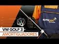 Cómo cambiar amortiguadores traseros en VW GOLF 3 INSTRUCCIÓN | AUTODOC