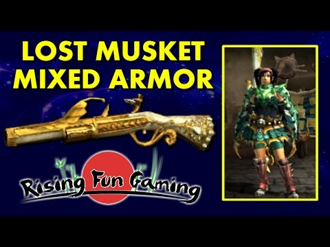 Monster Hunter Generations: Lost Musket Mixed Armor Sets