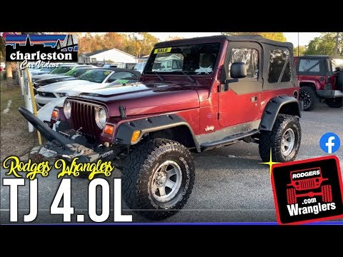 Solid Off-Road Vehicle   2003 Jeep Wrangler TJ w/4.0L   Upgraded 4x4 Accessories ( For Sale Review )