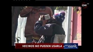 Vecinos de Santiago Centro indignados por mal uso de plaza pública - CHV Noticias