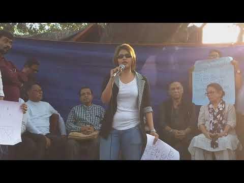 মুখমন্ত্রী মমতা ব্যানার্জীকে একহাত নিলেন অভিনেত্রী সায়ানি ঘোষ    Bhobishyoter Bhoot