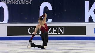 Рика Кихира Короткая программа Женщины Чемпионат мира по фигурному катанию 2021