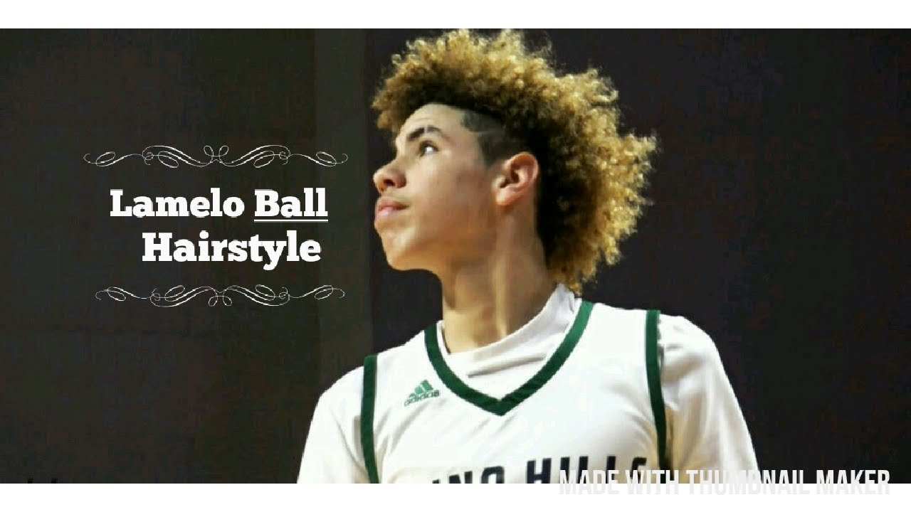 Lamelo Ball Hairstyle tutorial  YouTube