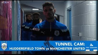 TUNNEL CAM: Huddersfield Town vs Manchester United