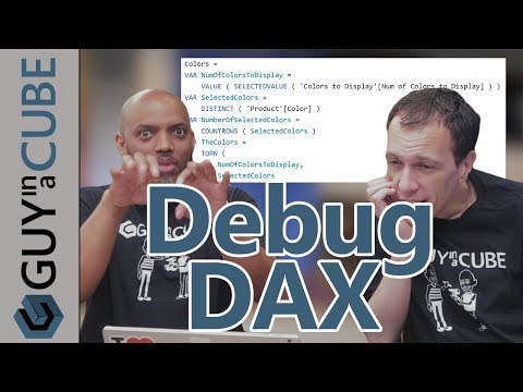 Debug DAX using Variables in Power BI