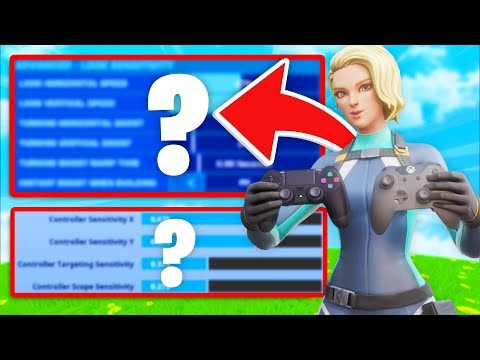 BEST Linear & Legacy Sensitivity For Controller Fortnite! (Best Sensitivity PS4 + Xbox)