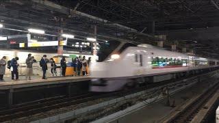 【ひたち】E657系 特急 ひたち(回送)@新橋駅