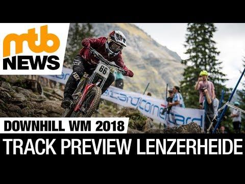 Downhill-WM 2018 Lenzerheide - Kursvorschau Mit Johann Potgieter