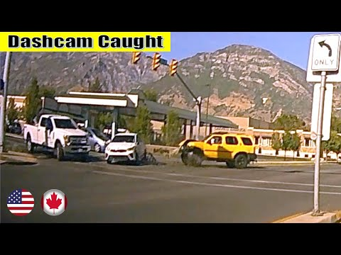 Ultimate North American Cars Driving Fails Compilation - 187 [Dash Cam Caught Video]