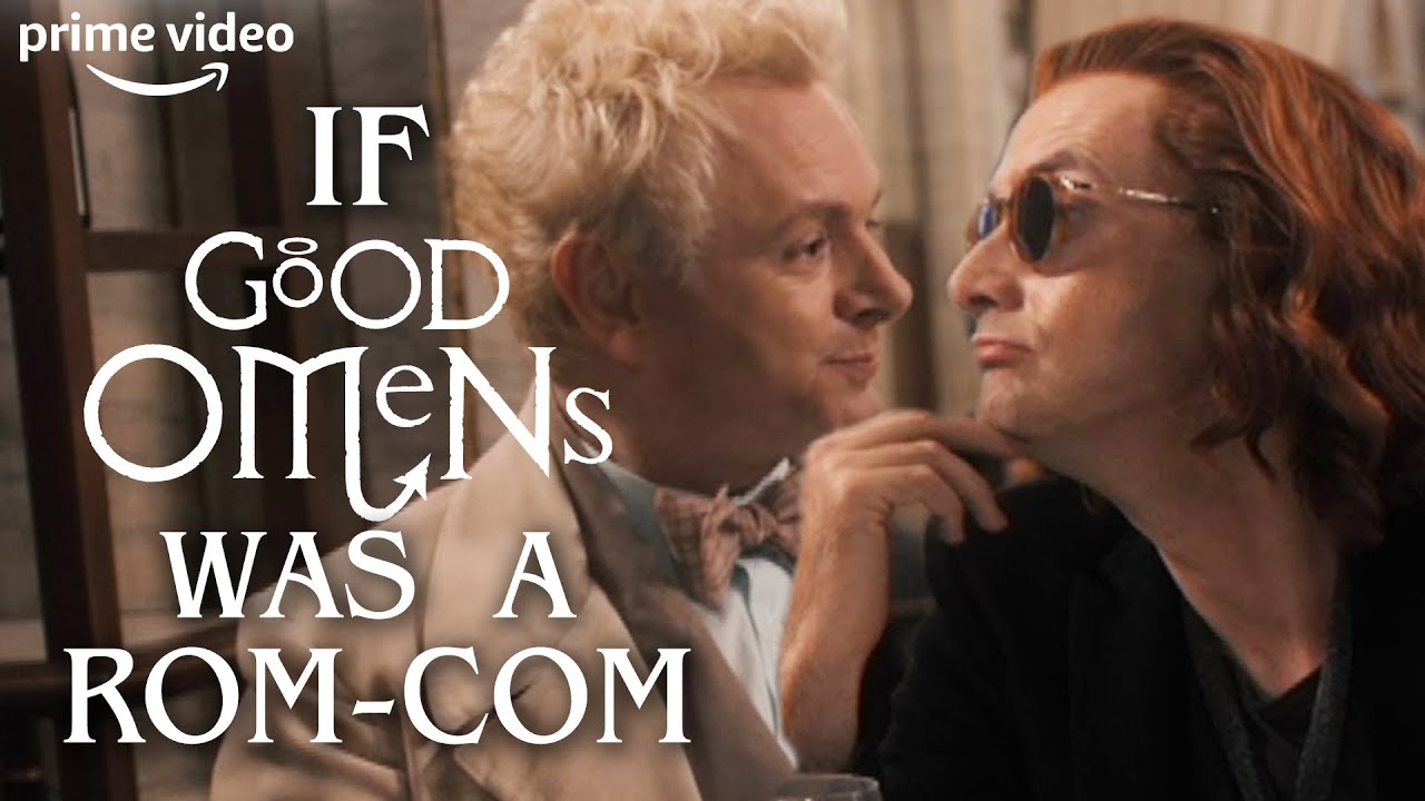 Download Good Omens If It Was A Romantic Comedy Film | Prime Video