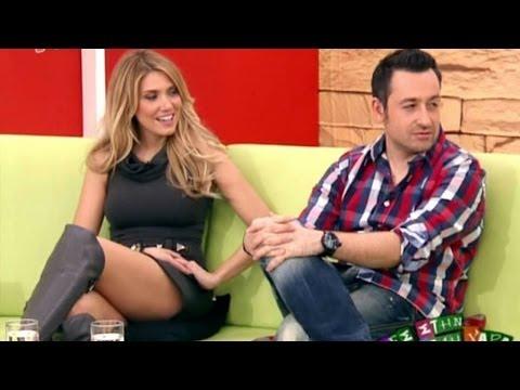Elena Papavasiliou Beautiful Greek Tv Presenter 29.01.2011