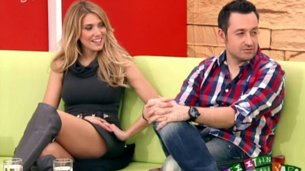 Elena Papavasiliou Beautiful Greek Tv Presenter 29.01.2011 #1