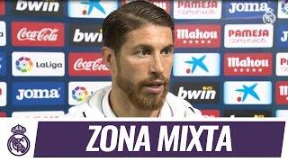 Sergio Ramos analizó la remontada del Real Madrid ante el Villarreal en Liga