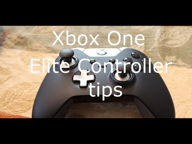 Xbox One Elite Controller tips: Getting the most from shooters