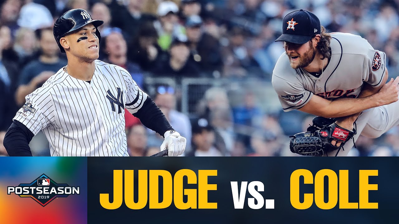 Star Showdown: Astros' Gerrit Cole vs. Yankees' Aaron Judge in ALCS Game 3 | MLB Highlight