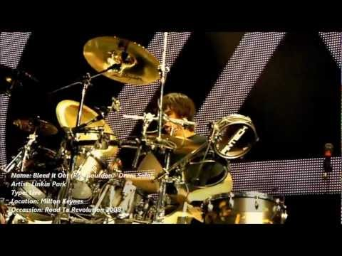 Linkin Park - Rob Bourdon Drum Solo (Bleed It Out, Live at Milton Keynes 2008) [Full HD 1080p]