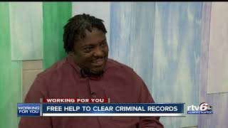 Free help to clear criminal records