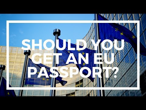 Why you should NOT get an EU passport