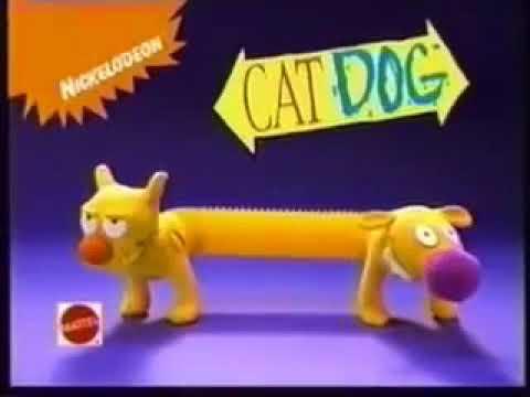 61cf4a7f4ccb Catdog Toy Ad (1999) - YouTube