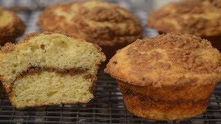 Coffee Cake Muffins Recipe Demonstration - Joyofbakingcom