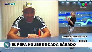 """EL FUROR DE LA PEPA BRIZUELA EN LAS REDES, CADA SÁBADO NOS INVITA A """"PEPA HOUSE"""""""