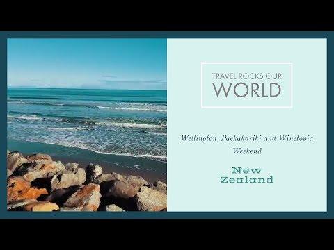 Wellington, Paekakariki and Winetopia Weekend, New Zealand