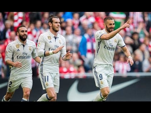 Athletic Bilbao 1-2 Real Madrid | All Goals | COPE | 2017