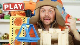 КукуPlay - Как правильно строить домик - Поиграйка с Пилотом Винтиком